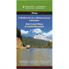 Dimap Harta Turistica Zona Lacul Rosu si Cheile Bicazului