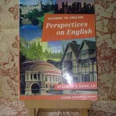 "Rada Balan - Pathway to english Perspectives on english stud's book 10 ""A2314"", Clasa 11, Limbi straine"
