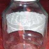 3 borcane 1700 ml cu capac metalic