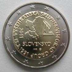 moneda 2 euro comemorativa SLOVACIA 2011, UNC