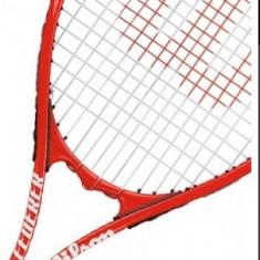 RACHETA WILSON NOUA, lichidare stoc - Racheta tenis de camp Wilson, SemiPro, Adulti, Carbon/Bazalt