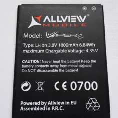 Acumulator Allview VIPER E / Baterie swap / / POZE REALE, Li-ion