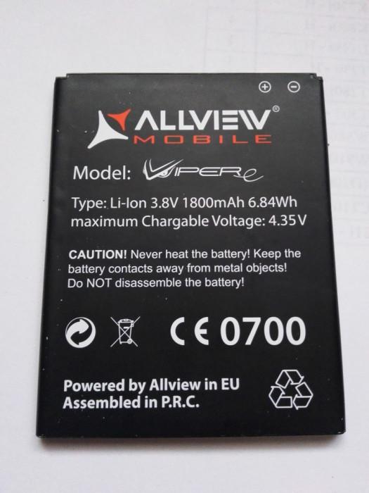 Acumulator Allview VIPER E / Baterie swap /  / POZE REALE foto mare