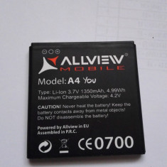 Acumulator Allview A4 YOU / Baterie swap / / POZE REALE, Li-ion