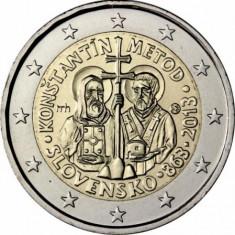 SLOVACIA 2013 moneda 2 euro comemorativa - UNC, Europa, Cupru-Nichel