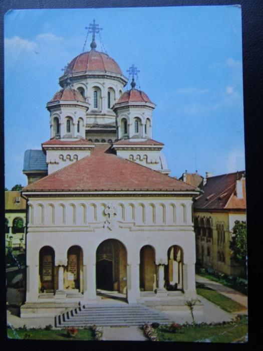 SEPT15 - Vedere/ Carte postala - Alba-Iulia foto mare