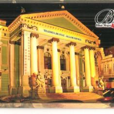 CPI (B5606) JUD. BIHOR - TEATRUL DE STAT - Carte Postala Transilvania dupa 1918, Necirculata, Fotografie