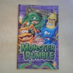 Manual - Buzz - Monster Rumble - Playstation PS2 ( GameLand )