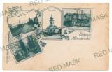 2224 - L i t h o, MARAMURES - old postcard - used - 1898, Circulata, Printata