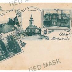 2224 - L i t h o, MARAMURES - old postcard - used - 1898 - Carte Postala Maramures pana la 1904, Circulata, Printata
