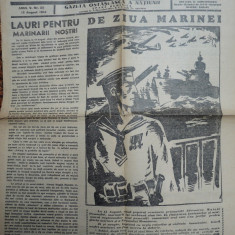Sentinela , gazeta ostaseasca a natiunii , 13 August 1944