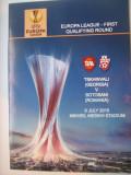 Tskhinvali(Georgia)-FC Botosani(9 iulie 2015)/program de meci, bilet, acreditare