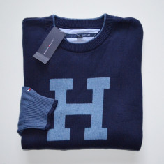 Pulover original Tommy Hilfiger - barbati S, L -100% AUTENTIC - Pulover barbati, Culoare: Din imagine