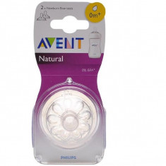 Tetina Philips Avent Natural +0 luni, 0-6 luni
