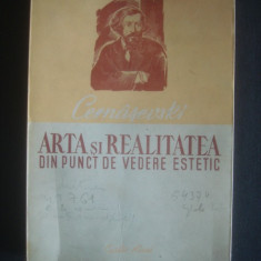 N. G. CERNASEVSKI - ARTA SI REALITATE DIN PUNCT DE VEDERE ESTETIC