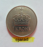 Moneda 1 Coroana - Norvegia 1981 *cod 840, Europa