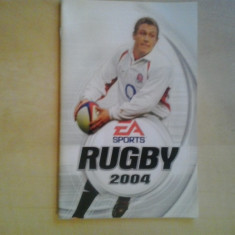 Manual - EA Sports Rugby 2004 - Playstation PS2 ( GameLand )