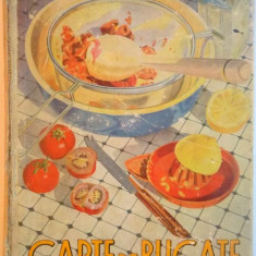 CARTE DE BUCATE, EDITIA a - V - a REVAZUTA SI MULT ADAUGATA de SANDA MARIN 1941 - Carte Retete traditionale romanesti