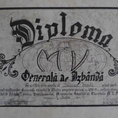 DIPLOMA GENERALA DE IZBANDA - A MISIONARILOR VOLUNTARI - FORMAT ALBUM - 1930-35 - Diploma/Certificat