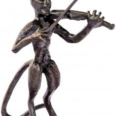 MUZICANT MODERN- STATUETA DIN BRONZ - sculptura reproducere, Animale