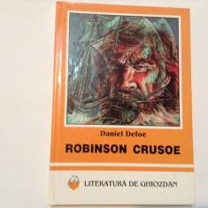 ROBINSON CRUSOE DANIEL DEFOE, RF8/4 - Carte de povesti