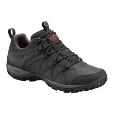 Pantofi barbatesti din piele Columbia Peakfreak Venture Waterproof Black (CLM-BM3992-BCK) - Pantof barbat Columbia, Marime: 40, 45, Culoare: Negru, Piele naturala