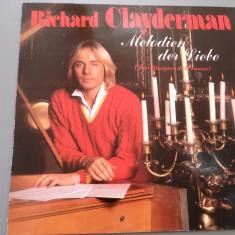 RICHARD CLAYDERMAN - LES MUSIQUES DE L'AMOUR (1980 / DECCA REC / RFG) - VINIL - Muzica Clasica decca classics