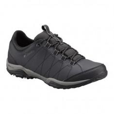 Pantofi pentru barbati Columbia Sentiero Black (CLM-BM3996-BCK) - Pantof barbat Columbia, Marime: 44, 45, Culoare: Negru, Piele naturala