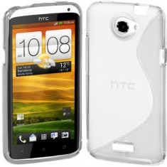 Husa HTC One S + incarcator auto original