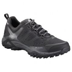 Pantofi din piele pentru barbati Peakfr Xcrsn Leather Outdry Mud (CLM-BM3929-BCK) - Adidasi barbati Columbia, Marime: 41, 42, 44, 45, Culoare: Negru