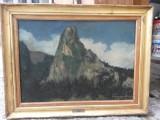 Tablou ulei pe panza semnat si datat Ioan Papazoglu, Peisaje, Altul