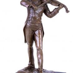 JOHANN STRAUSS- STATUETA DIN BRONZ PE SOCLU DIN MARMURA - sculptura reproducere, Animale