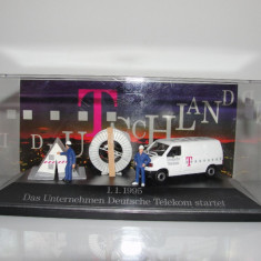 Macheta Minidiorama VW T4 Telekom Herpa 1/87 - Macheta auto