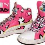 Adidasi bascheti PUMA YO MTV RAPS, deosebiti (unisex 42)
