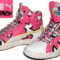 Adidasi bascheti PUMA YO MTV RAPS, deosebiti (unisex 42) - Adidasi barbati