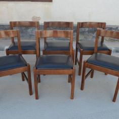 Set 6 scaune Art-Deco
