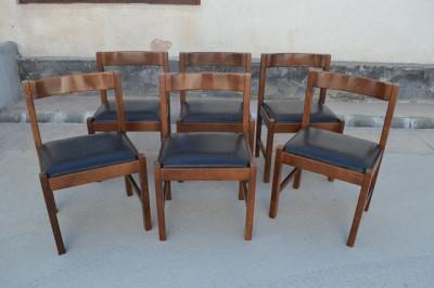 Set 6 scaune Art-Deco foto