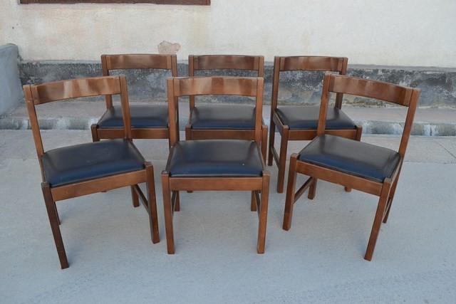 Set 6 scaune Art-Deco foto mare