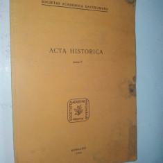 Acta historica - Sociatatea Academica Romana - vol. V - 1966 / Munchen - Revista culturale