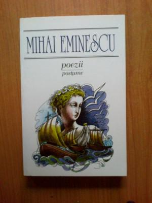 z2  Poezii postume - Mihai Eminescu foto