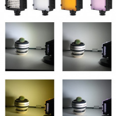 Lampa foto - video cu Led model CN-76 CN76 cu 76 leduri - Lampa Camera Video