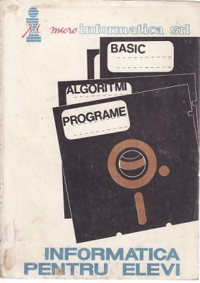 Micro informatica srl basic algoritmi programe-Informatica pentru elevi , 2 foto