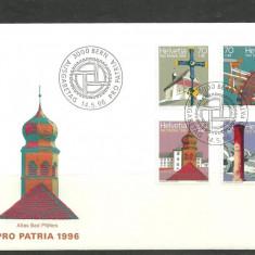 Elvetia 1996 – ANIVERSARI, FDC
