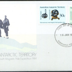 AUSTRALIA 1984 - THE SOUTH MAGNETIC POLE EXPEDITION - FDC (Z77)
