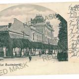 3057 - L i t h o, SATU-MARE - old postcard - used - 1901