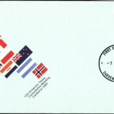 FDC AUSTRALIAN ANTARCTIC TERITORY 1983 (Z77)