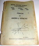 PROBLEME DE ALGEBRA SI GEOMETRIE - Craiu/Neagu/Toma / Politehnica Bucuresti 1979