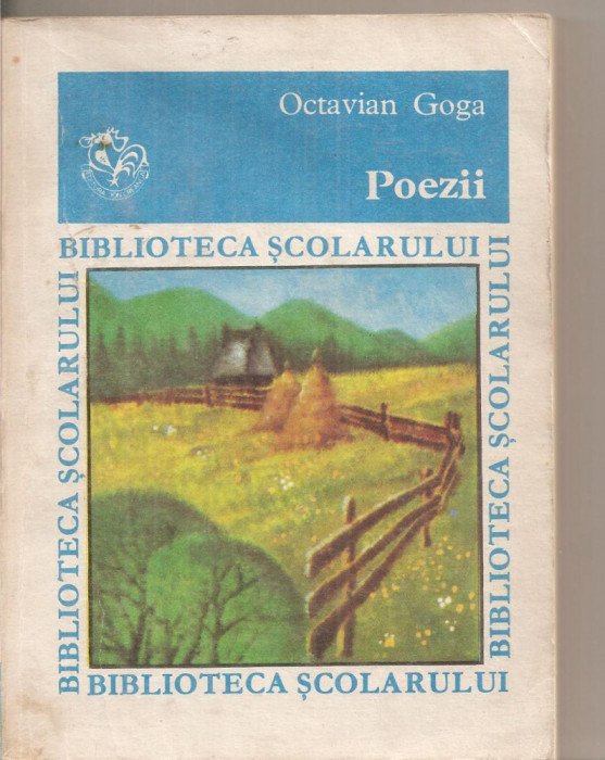 (C6323) POEZII - OCTAVIAN GOGA foto mare