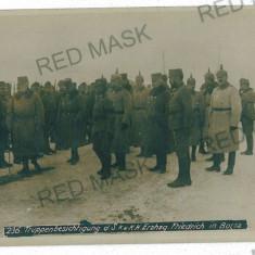 3060 - Maramures, BORSA, military - old postcard, real PHOTO - unused, Necirculata, Fotografie