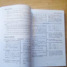 Manual pentru clasa a 11-ea Marius Burtea si Georgeta Burtea M1 - Teste Bacalaureat Altele